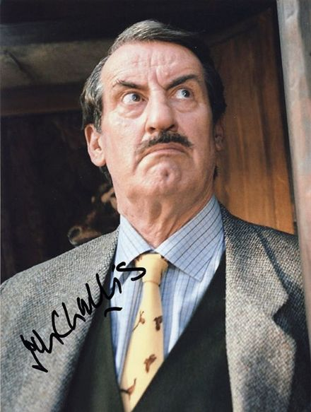 John Challis, Boycie in Only Fools and Horses, signed 10x8 inch photo.